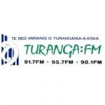 Logo da emissora Radio Turanga 91.7 FM