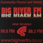 Logo da emissora Radio Big River 98.6 FM