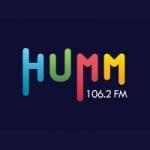 Logo da emissora Radio Humm 106.2 FM