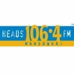 Logo da emissora Radio Heads 106.4 FM