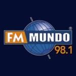 Logo da emissora Radio FM Mundo 98.1