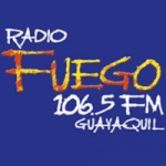 Logo da emissora Radio Fuego 106.5 FM