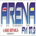 Logo da emissora Rádio Arena 87.9 FM