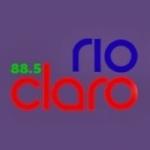 Logo da emissora Rádio Rio Claro 88.5 FM