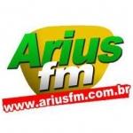 Logo da emissora Rádio Arius 87.9 FM
