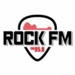 Logo da emissora Radio Rock 95.8 FM