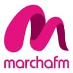 Logo da emissora Radio Marcha 89.8 FM