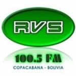 Logo da emissora Radio La Voz Del Santuario RVS 100.5 FM