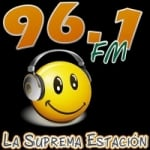 Logo da emissora Radio La Suprema Estación 96.1 FM