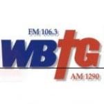 Logo da emissora WBTG 106.3 FM 1290 AM
