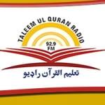 Logo da emissora Taleem Ul Quran Radio 92.9 FM