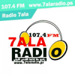 Logo da emissora Radio 7ala 107.4 FM