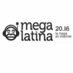 Logo da emissora Radio Mega Latina 104.4 FM