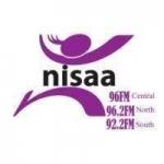 Logo da emissora Radio Nisaa 96.2 FM