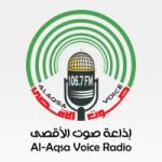 Logo da emissora Al-Aqsa Voice Radio 106.7 FM