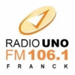 Logo da emissora Radio Uno 106.1 FM