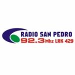 Logo da emissora Radio San Pedro 92.3 FM