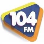 Logo da emissora Rádio Assú 104.9 FM