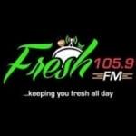Logo da emissora Radio Fresh 105.9 FM