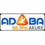 Logo da emissora Radio Adaba 88.9 FM