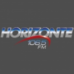 Logo da emissora Radio Horizonte 106.5 FM