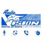 Logo da emissora Radio Vision 650 AM