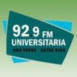 Logo da emissora Radio Universitaria 92.9 FM
