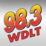Logo da emissora WDLT 98.3 FM