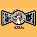 Logo da emissora Radio Tigre 100.5 FM