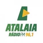 Logo da emissora Rádio Atalaia 96.1 FM