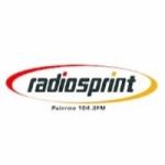 Logo da emissora Radio Sprint 104.3 FM