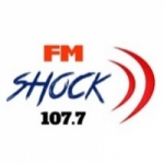 Logo da emissora Shock 107.7 FM