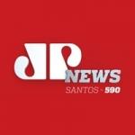 Logo da emissora Rádio Jovempan News 590 AM