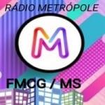 Logo da emissora Rádio Metrópole Fmcg