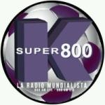 Logo da emissora Radio Super K 800 AM