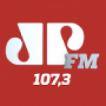 Logo da emissora Rádio Jovem Pan 107.3 FM