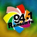 Logo da emissora Radio Rainbow 94.1 FM
