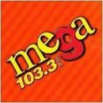 Logo da emissora Radio Mega 103.3 FM
