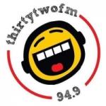 Logo da emissora Radio Thirty Two 94.9 FM