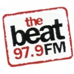 Logo da emissora Radio The Beat 97.9 FM