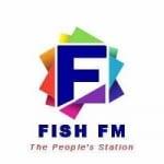 Logo da emissora Radio Fish 105.9 FM