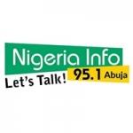 Logo da emissora Radio Nigeria Info 95.1 FM