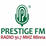 Logo da emissora Radio Prestige 91.7 FM
