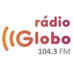 Logo da emissora Rádio Globo Salvador 104.3 FM