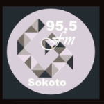 Logo da emissora Radio Garkuwa 95.5 FM