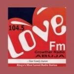 Logo da emissora Radio Love 104.5 FM