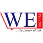 Logo da emissora Radio We 106.3 FM