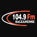 Logo da emissora Rádio Salzanense 104.9 FM