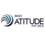 Logo da emissora Rádio Atitude 103.5 FM