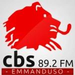 Logo da emissora Radio CBS Emmanduso 89.2 FM